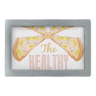 Healthy Choice Rectangular Belt Buckle