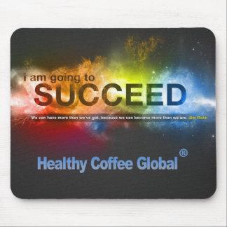 Healthy Coffee Global Mousepad