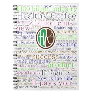 Healthy Coffee Notebook