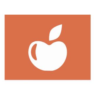Healthy Diet Apple Workout T-shirt Graphic Postcard