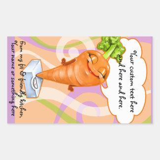 Healthy diet carrot sticker