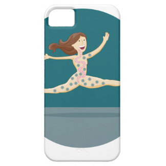 Healthy Digestion Girl iPhone SE/5/5s Case