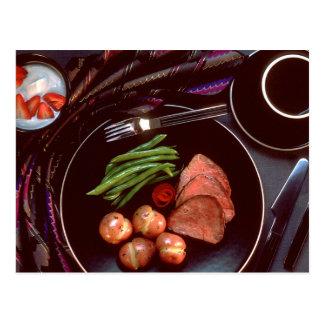 Healthy Dinner Postcard