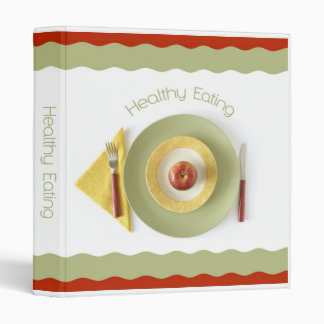 Healthy Eating Recipes Binder