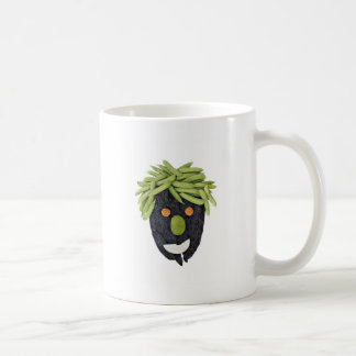 Healthy Face made with vegetables Coffee Mug