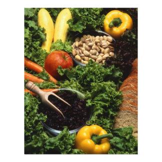 "Healthy food 8.5"" x 11"" flyer"