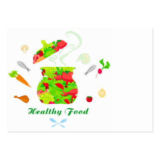 healthy food Business Card