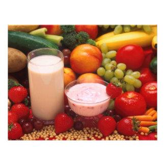 Healthy food flyer