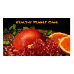 Healthy Food Restaurant Business Card Templates