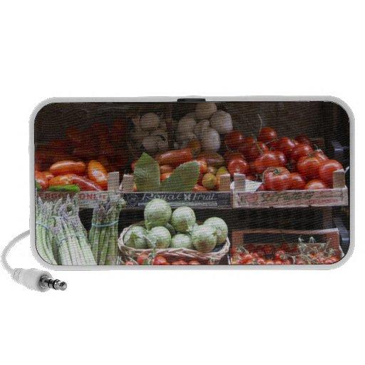healthy fresh produce travel speaker