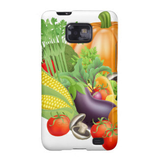 Healthy fresh produce vegetables samsung galaxy s2 cases