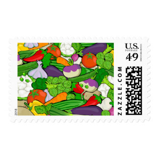 Healthy Fresh Vegetables Medley Postage