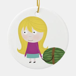 Healthy fruit ornament