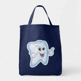 Healthy Happy Tooth Tote Bag