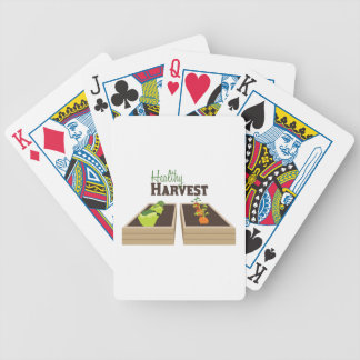 Healthy Harvest Bicycle Playing Cards