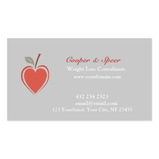 Healthy Heart  Business Business Cards