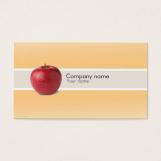 Healthy life business card
