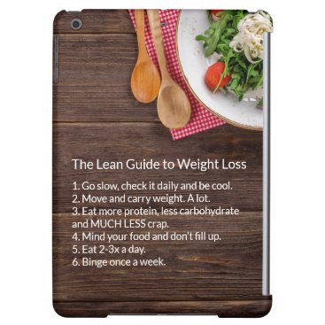 Healthy Life: The Lean Guide to Weight Loss Case For iPad Air