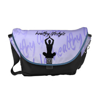 Healthy Lifestyle Messenger Bag