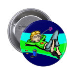 Healthy Living Button