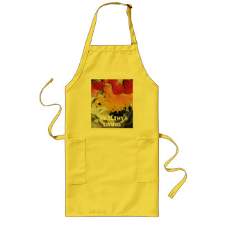 HEALTHY LIVING LONG APRON