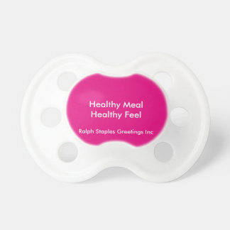 Healthy Meal Pacifier