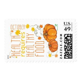 Healthy October Post Postage