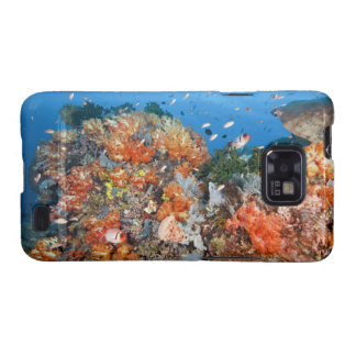 Healthy reef structure, Komodo National Park Galaxy S2 Case