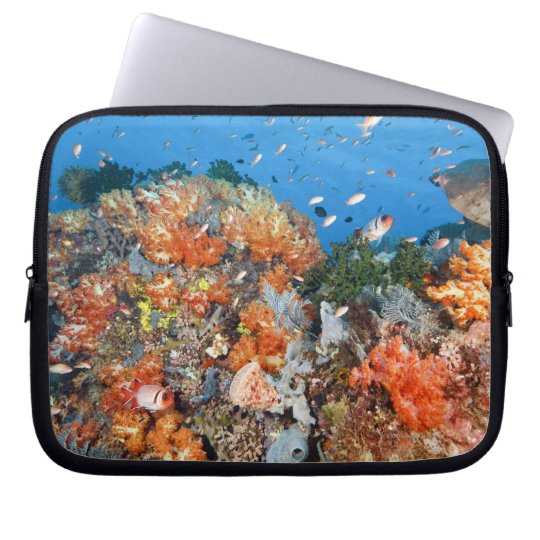 Healthy reef structure, Komodo National Park Computer Sleeve