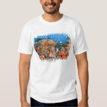 Healthy reef structure, Komodo National Park Tshirts