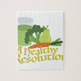Healthy Resolution Jigsaw Puzzle