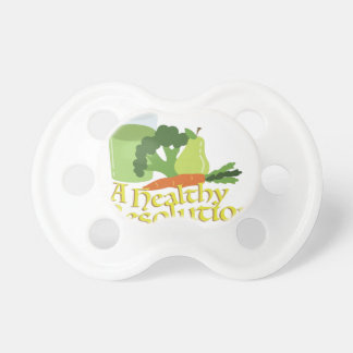 Healthy Resolution Pacifier