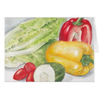 Healthy Salad Card