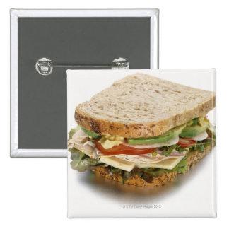 Healthy sandwich button