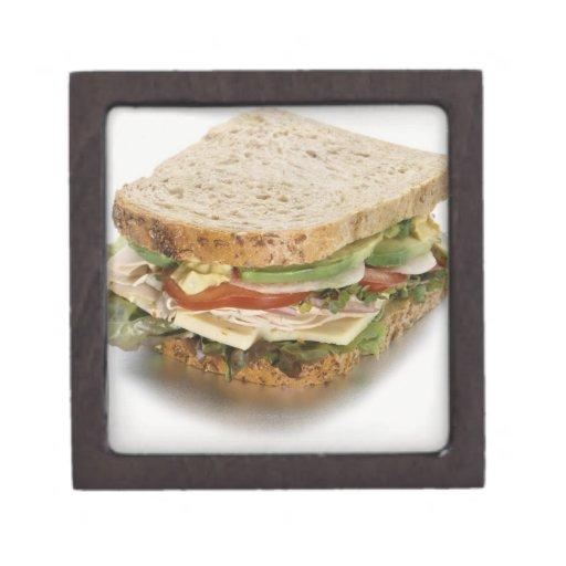 Healthy sandwich keepsake box