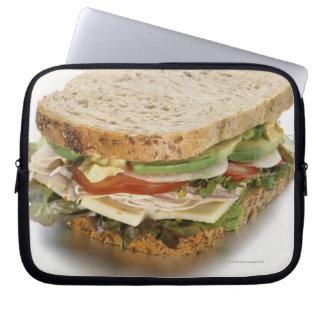 Healthy sandwich laptop sleeve