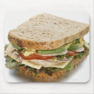 Healthy sandwich mouse pad