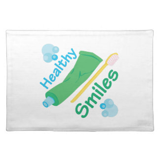 Healthy Smiles Cloth Place Mat