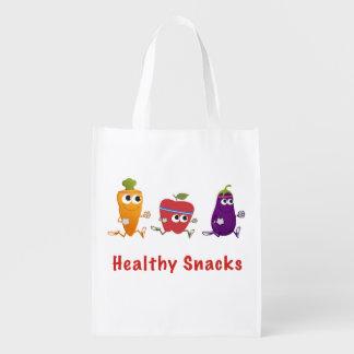 Healthy Snacks Grocery Bag