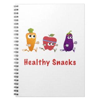 Healthy Snacks Spiral Notebook