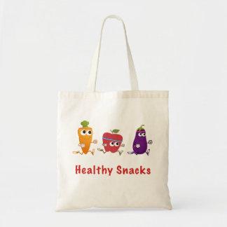 Healthy Snacks Tote Bag