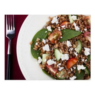 Healthy Spelt Salad Postcard