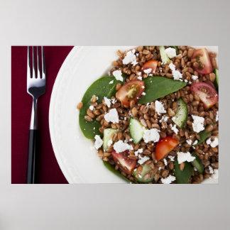 Healthy Spelt Salad Poster