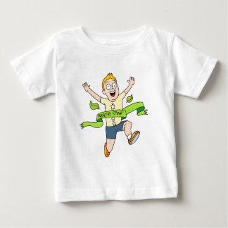 Healthy Spine Runner Baby T-Shirt