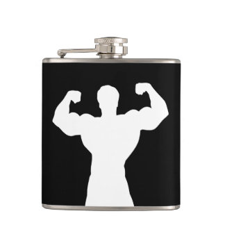 Healthy String Man Hip Flask