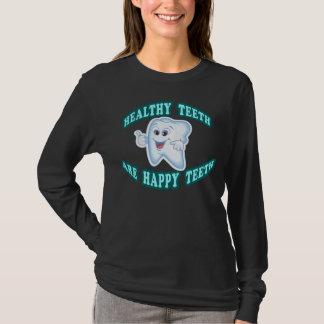 Healthy Teeth Are Happy Teeth T-Shirt