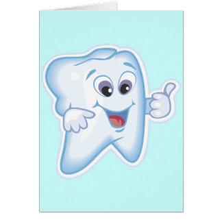 Healthy Teeth Greeting Card
