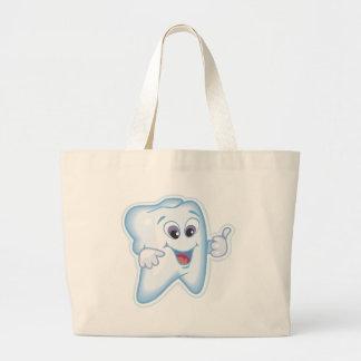 Healthy Teeth Large Tote Bag