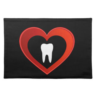 Healthy tooth place mat