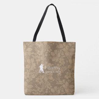Healthy Trekking Hawaiian Hibiscus Cocoa Beach Bag